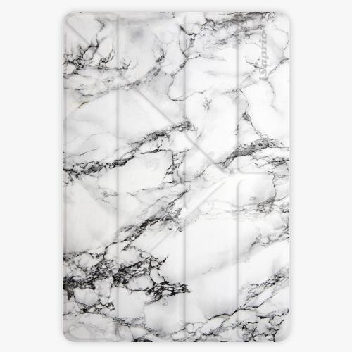 Pouzdro iSaprio Smart Cover - White Marble - iPad Air