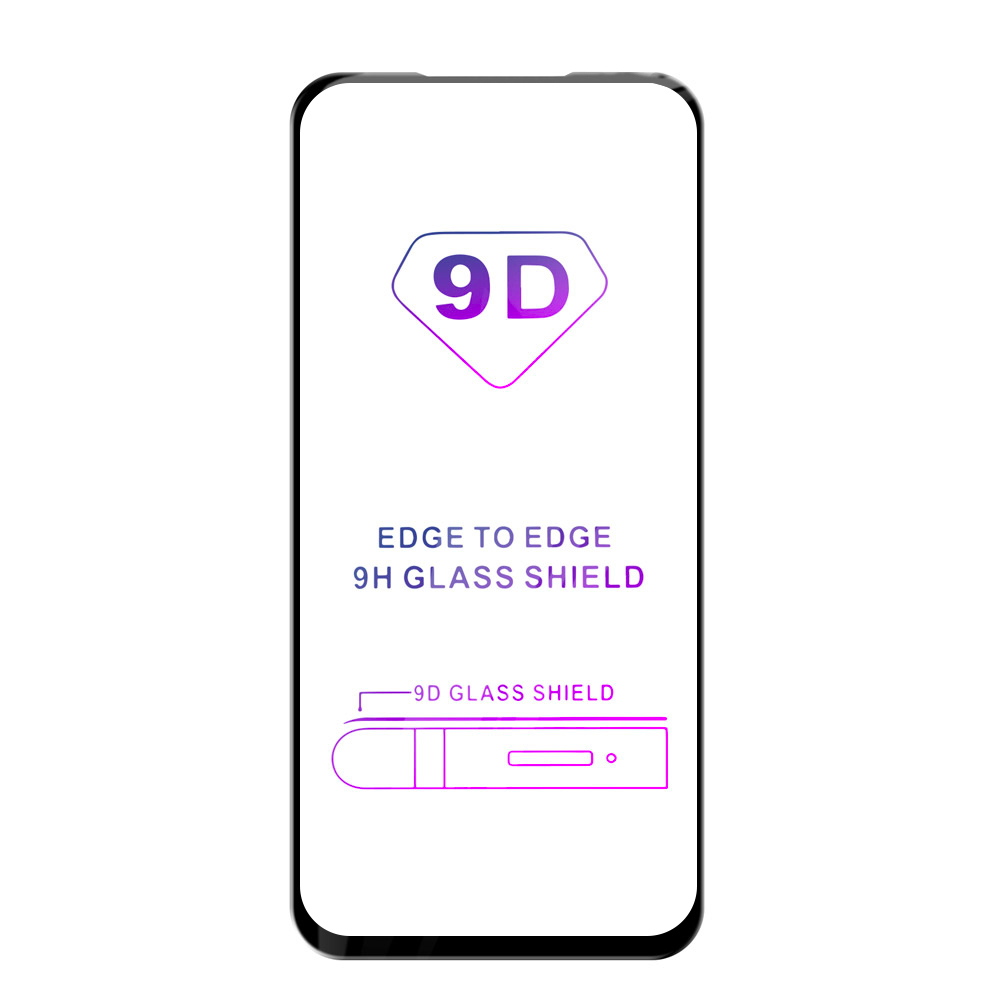 Tvrzené sklo iSaprio 9D BLACK pro Huawei P Smart 2021